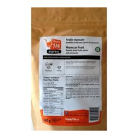 Happy Yak Moroccan Couscous and Lentils Dehydrated Food Package