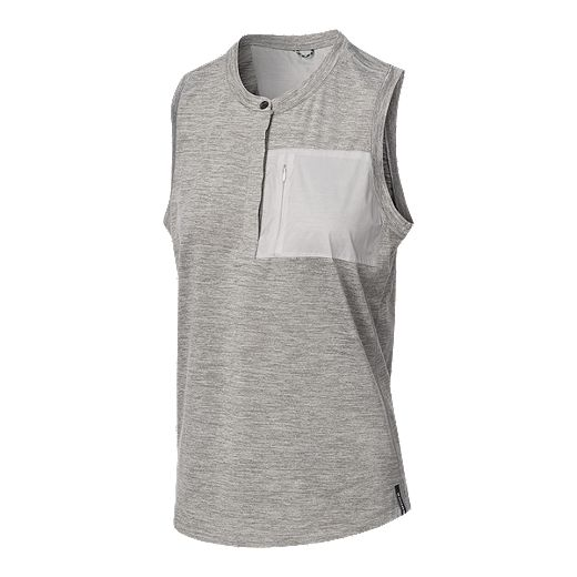 Woods Women's Fissile Tank - Harbor Mist