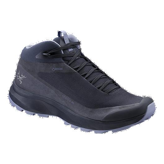 5b26ee470c05a7 Arc'teryx Women's Aerios FL Mid GTX Hiking Boots - Black Sapphire/Binary |  Atmosphere.ca