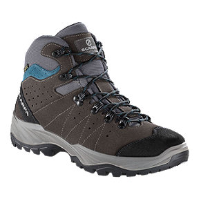 Scarpa Men's Mistral GTX Hiking Boots - Smoke/Lake Blue