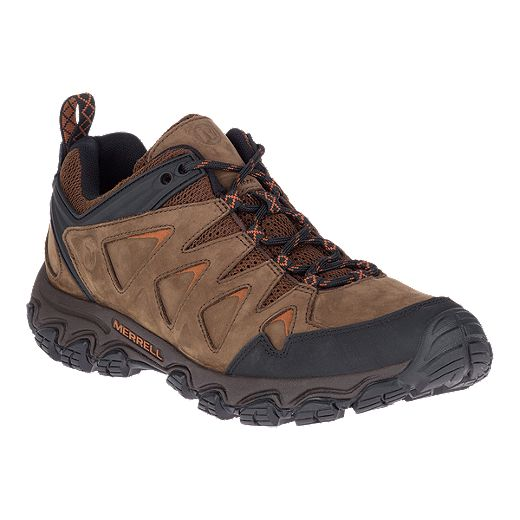 Merrell Men's Pulsate 2 Leather Hiking Shoes - Dark Earth