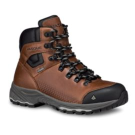 Vasque Women's St. Elias Full Grain Leather GTX Hiking Boots - Cognac