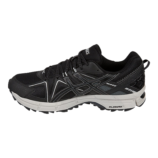 best service 8295d d1150 ASICS Men's GEL Kahana 8 Trail Running Shoes - Black/Silver