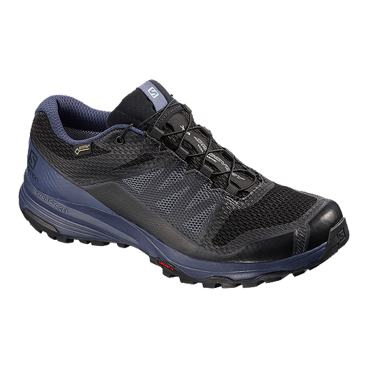 07bd4b7af89b Salomon Women s XA Discovery GTX Trail Running Shoes - Black Blue ...
