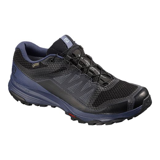 Salomon Women's XA Discovery GTX Trail Running Shoes - Black/Blue