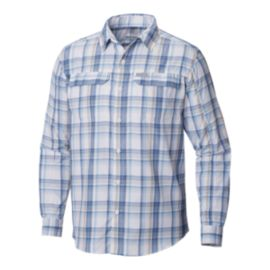 Columbia Men's Silver Ridge 2.0 Plaid Long Sleeve Shirt