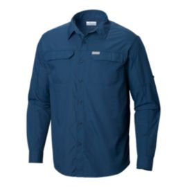 Columbia Men's Silver Ridge 2.0 Long Sleeve Shirt - Petrol Blue