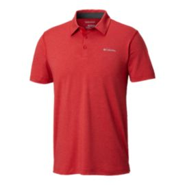 Columbia Men's Tech Trail Polo - Red