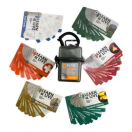 UST Learn & Live Instructional Cards - Outdoor Skills Set