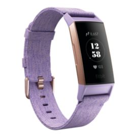 Fitbit Charge 3 SE Fitness Tracker - Lavender Woven/Rose Gold