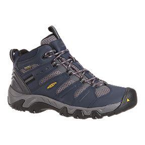b52ff9b84f Keen Men s Koven Mid Waterproof Hiking Boots - Blue Grey