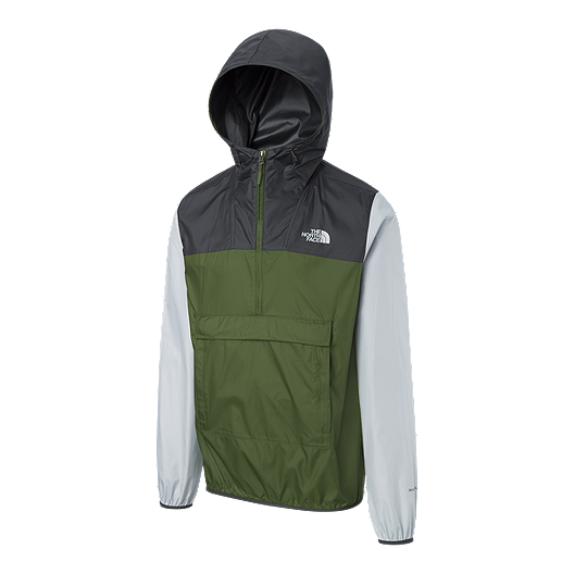 Mens The Good Life Windbreaker Jacket with Hood with drawcord by camp original