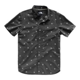 The North Face Men's Baytrail Jacquard Short Sleeve Shirt - Black