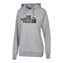 The North Face Women's Half Dome Stayframe Pullover Hoodie - Grey