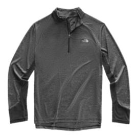 The North Face Men's Ambition 1/4 Zip Long Sleeve Top - Black