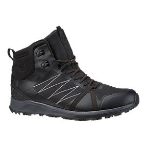 14ac21e59d492f The North Face Men s Litewave Fastpack II Mid Waterproof Hiking Boots - TNF  Black Ebony