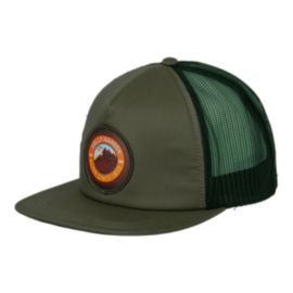 Helly Hansen Flatbrim Trucker Hat - Jungle Green