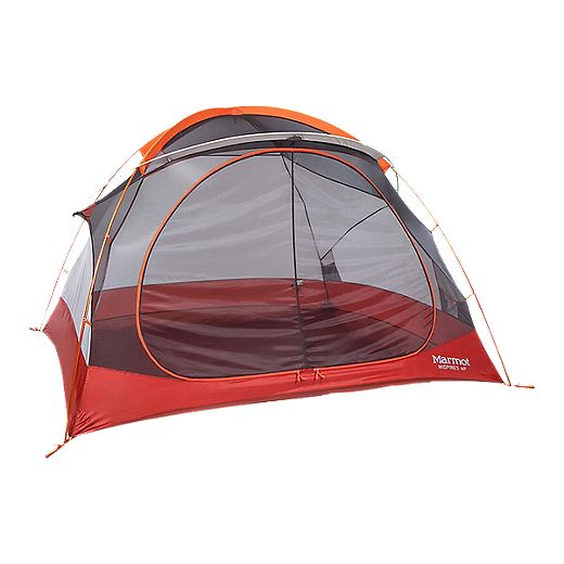 Marmot Midpines 4-Person Tent - Orange Spice/Arona