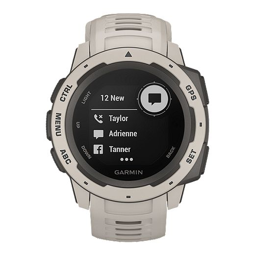 Garmin Instinct Rugged Outdoor GPS Watch - Tundra