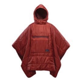 Therm-a-Rest Honcho Poncho Insulated Blanket - Rust
