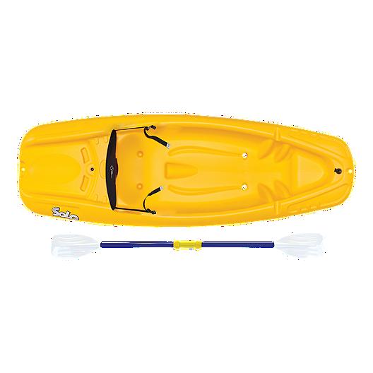 Pelican Solo Kid Kayak with Seatback & Paddle