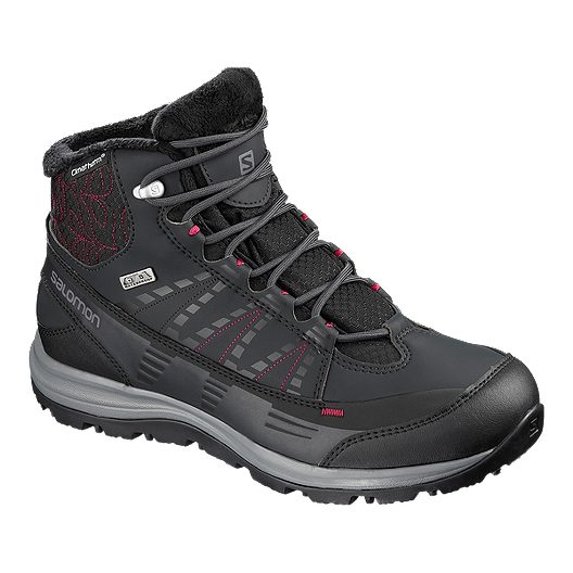 d23270d0215 Salomon Women's Kaina ClimaShield Waterproof 2 Winter Boots - Phantom/Red