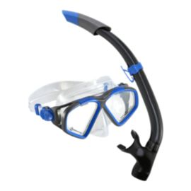 Aqua Lung Hawkeye Snorkel Set - Dark Blue
