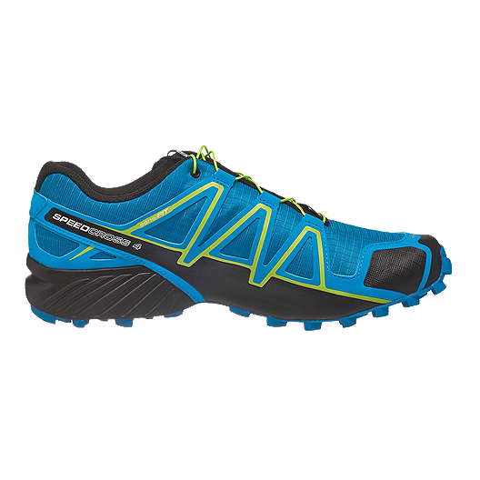 c42779ca8150 Salomon Men s Speedcross 4 CS Trail Running Shoes - Blue Black ...