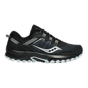 Saucony Men's Peregrine 8 GTX Running Shoes BlackBlue