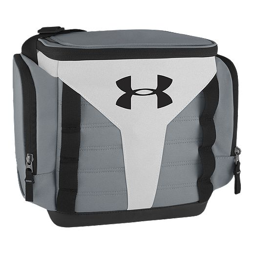 Under Armour 12 Can Soft Cooler - White/Black