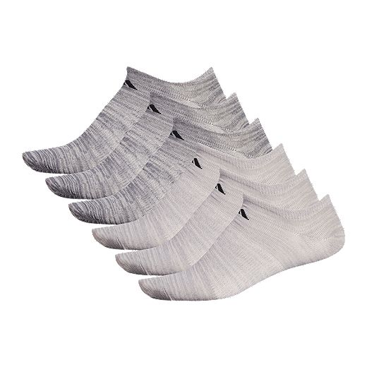 adidas Mens' Superlite No Show Sock - 6 Pack