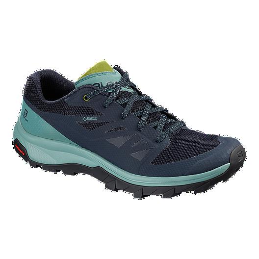 Salomon Women's OUTline GTX Hiking Shoes Trellis