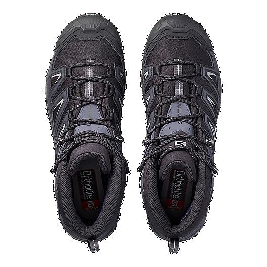 best sneakers 74dcf e2a46 Salomon Men's X Ultra 3 Mid Wide GTX Hiking Boots - Black