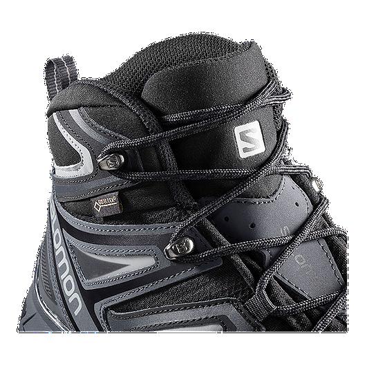 best sneakers 3869b fd338 Salomon Men's X Ultra 3 Mid Wide GTX Hiking Boots - Black