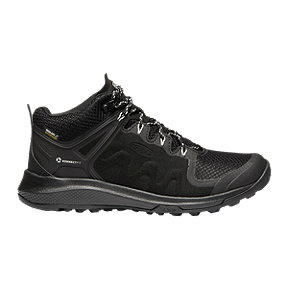 Keen Women's Explore Mid Waterproof Hiking Boots - Black/Star White