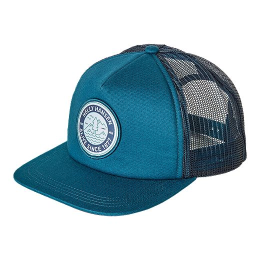 Helly Hansen Flat Brim Trucker Hat - Blue