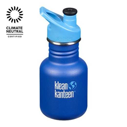 Klean Kanteen 12 oz Kid Classic Sport Bottle - Surfsup