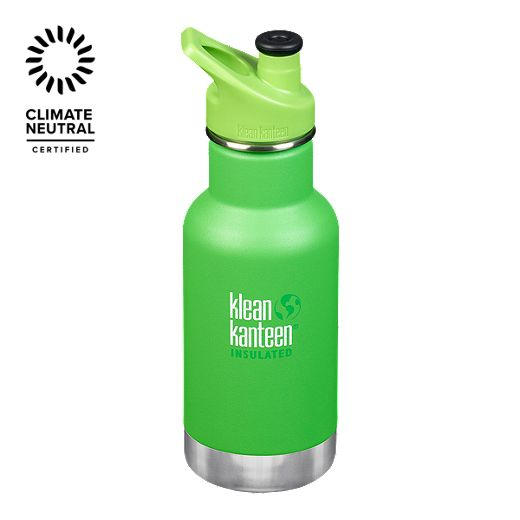 Klean Kanteen 12 oz Insulated Kid Classic Water Bottle - Lizard Tails