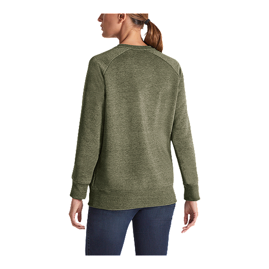 bed1eea2b The North Face Women's Heritage Crew - Four Leaf Clover