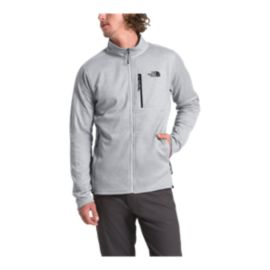 The North Face Men's Canyonlands Full Zip Fleece - Light Grey Heather