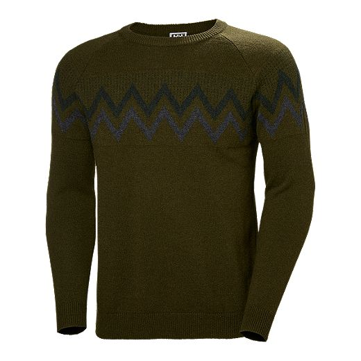 Helly Hansen Men's Wool Knit Sweater - Forest Night
