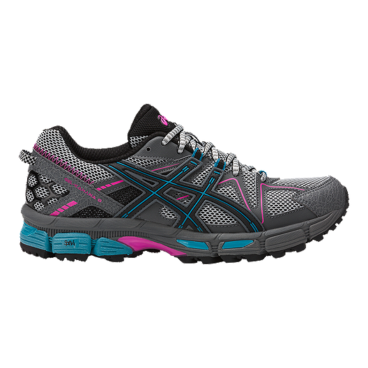 separation shoes 44a30 46cce ASICS Women's GEL Kahana 8 Trail Running Shoes - Black/Blue/Rose
