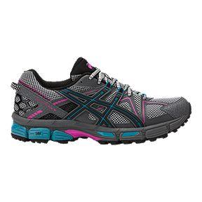 001fa537a2c ASICS Women s GEL Kahana 8 Trail Running Shoes - Black Blue Rose