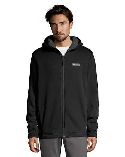 Columbia Men's Reedville Sherpa Full Zip Hoodie - Black