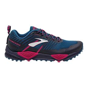 competitive price 47daf bb3c9 Brooks Women s Cascadia 13 Trail Running Shoes - Black Navy Pink