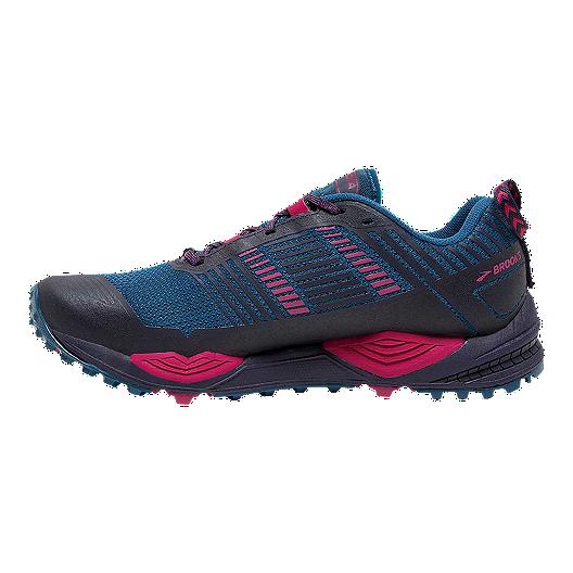 5db1d57a573 Brooks Women's Cascadia 13 Trail Running Shoes - Black/Navy/Pink