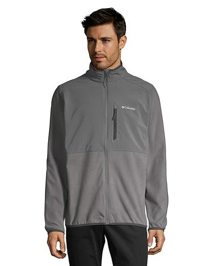 Columbia Men's Teihen Trails Full Zip Fleece - City Grey