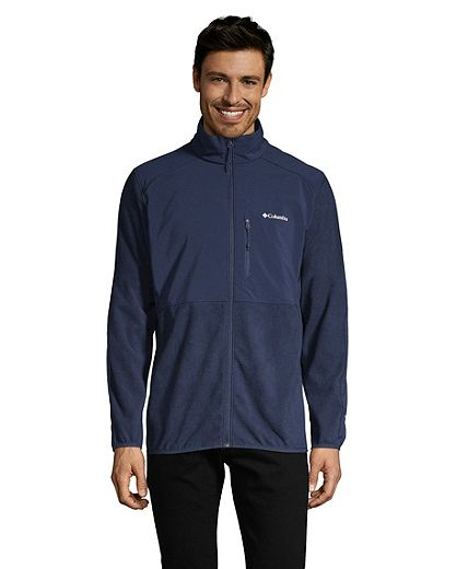 Columbia Men's Teihen Trails Full Zip Fleece - Collegiate Navy