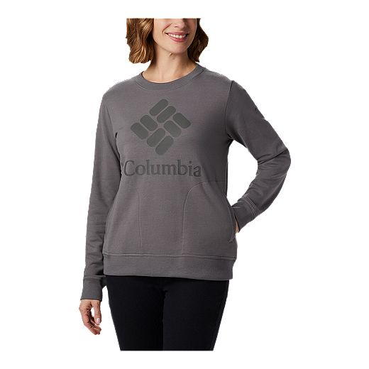 Columbia Women's Columbia Lodge Crew - Grey