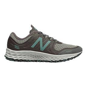 best website 6cbfc 86619 New Balance Women s Kaymin D Trail Running Shoes - Brown Blue